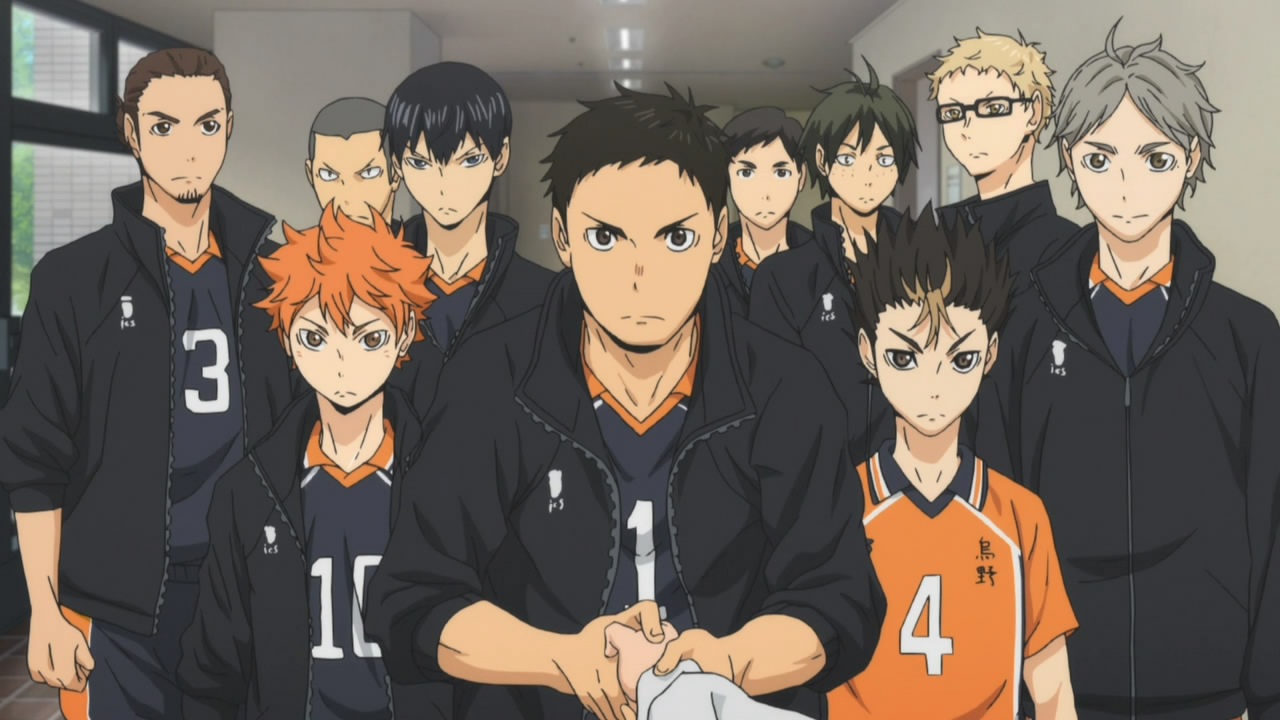 review haikyuu season 1. Black Bedroom Furniture Sets. Home Design Ideas