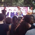 In Stereo Perform At Hyde Park