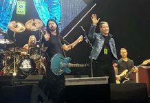 John Travolta Crashes Foo Fighters Performance