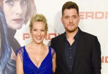 Michael Bublé and wife Luisana Lopilato