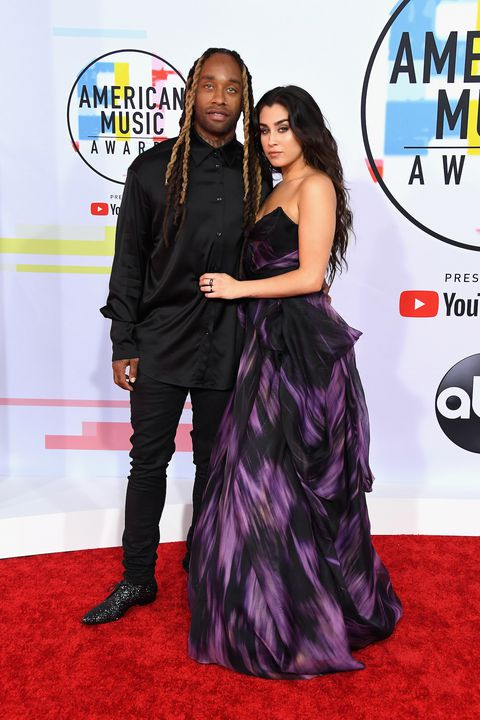 Lauren Jauregui & Ty Dolla Sign at the American Music Awards