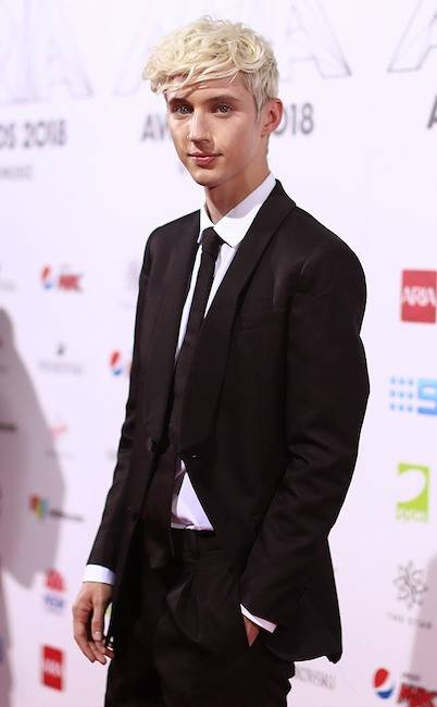 Troye Sivan at the 2018 ARIA Awards