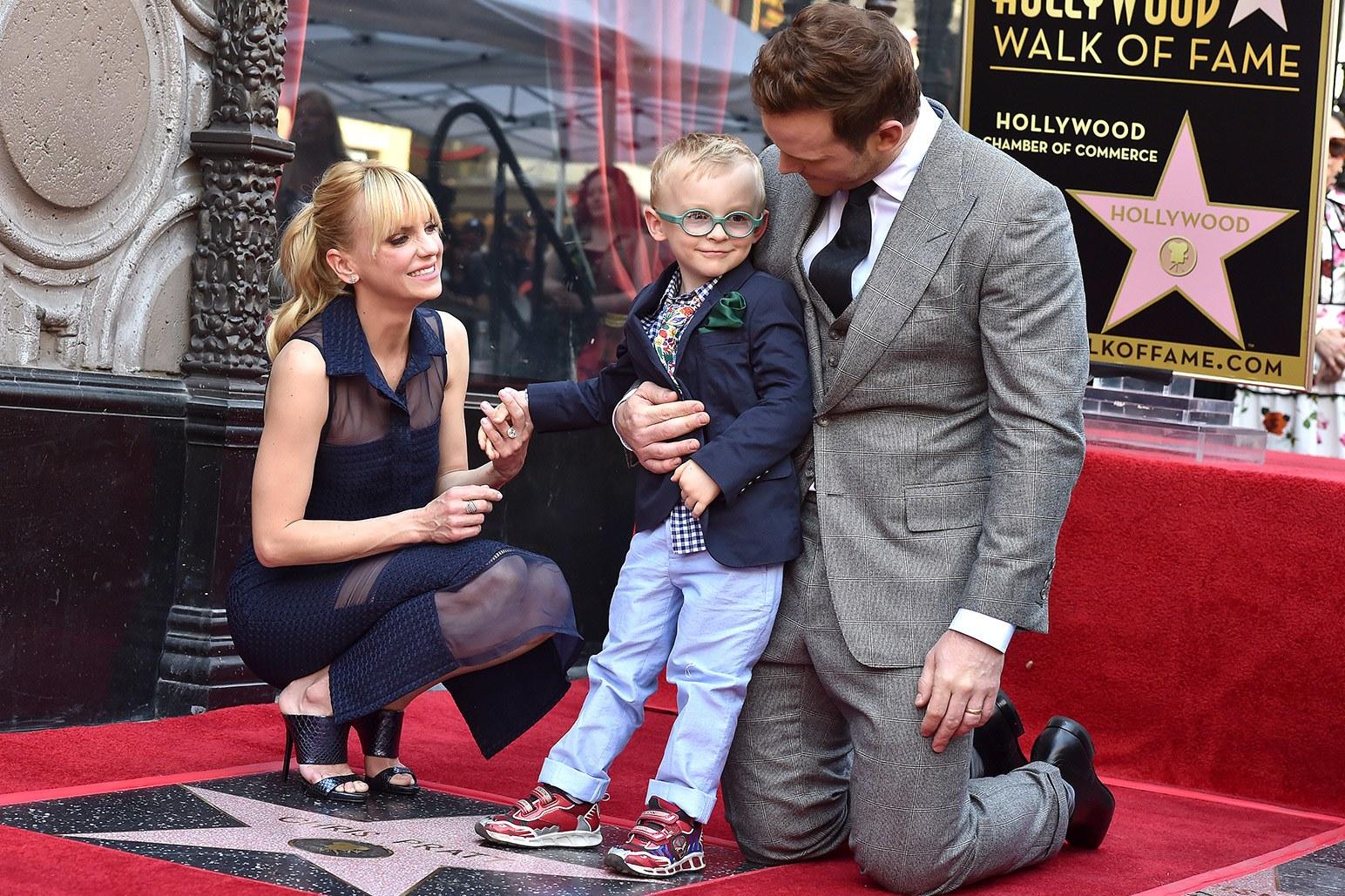 Chris Pratt & Anna Faris