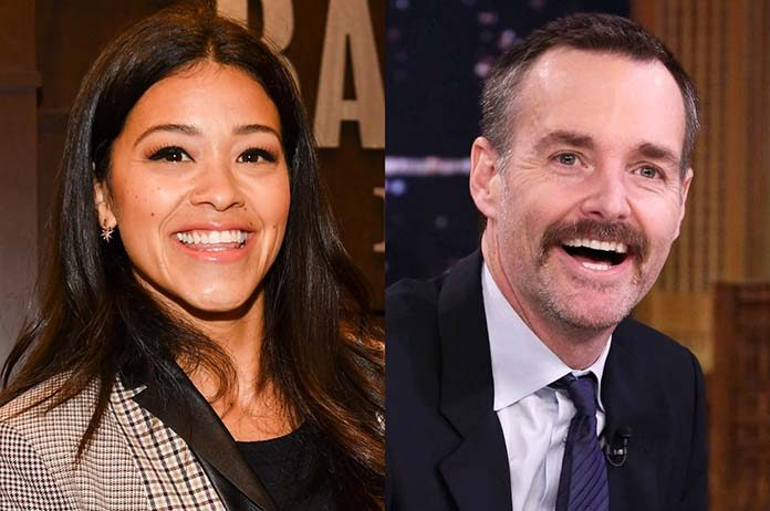 Gina Rodriguez And Will Forte