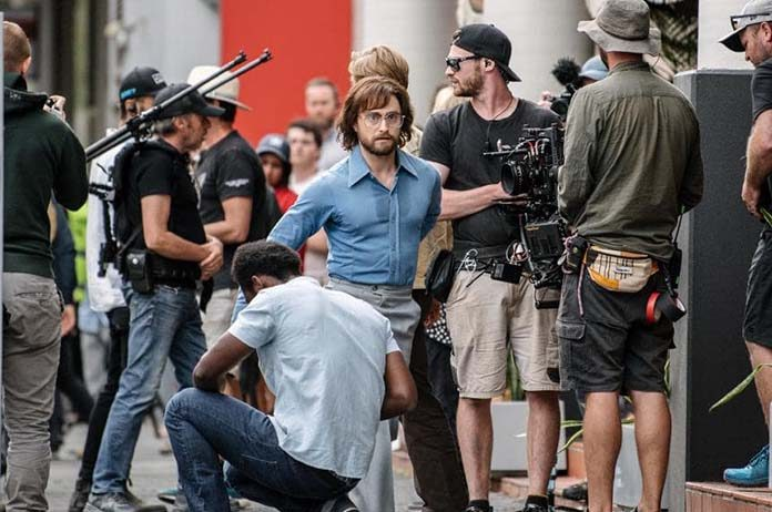 Daniel Radcliffe Filming In Adelaide