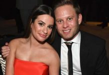 Lea Michele and Zandy Reich.