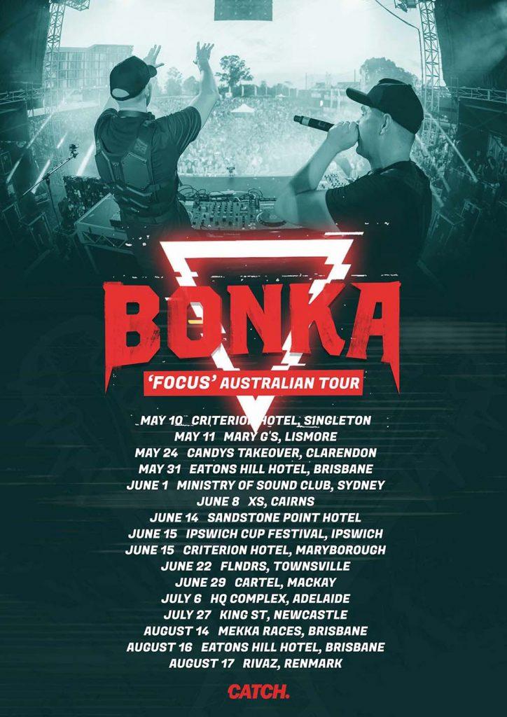 Bonka Tour Dates