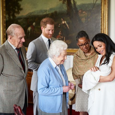 Archie Harrison Mountbatten-Windsor.