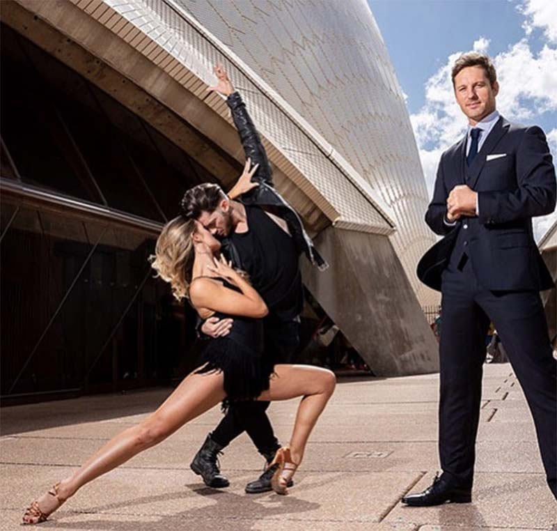 Gustavo Viglio and Jorja Freeman Engaged