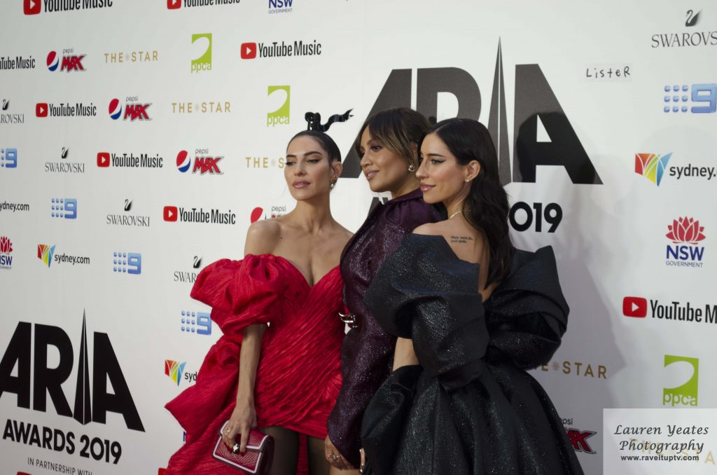Jessica Mauboy and The Veronicas
