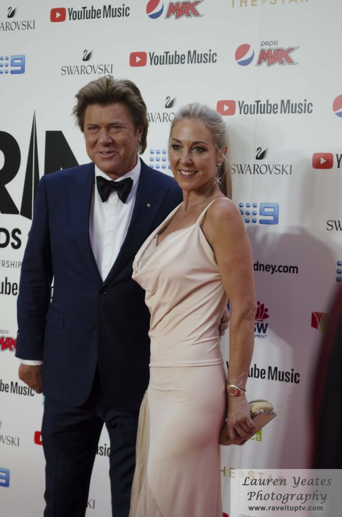 Richard Wilkins and his partner Virginia Burmeister