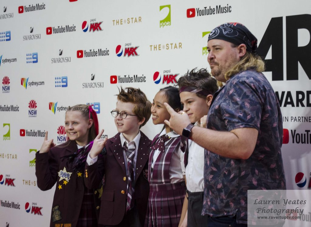 Cast of the School of Rock Musical