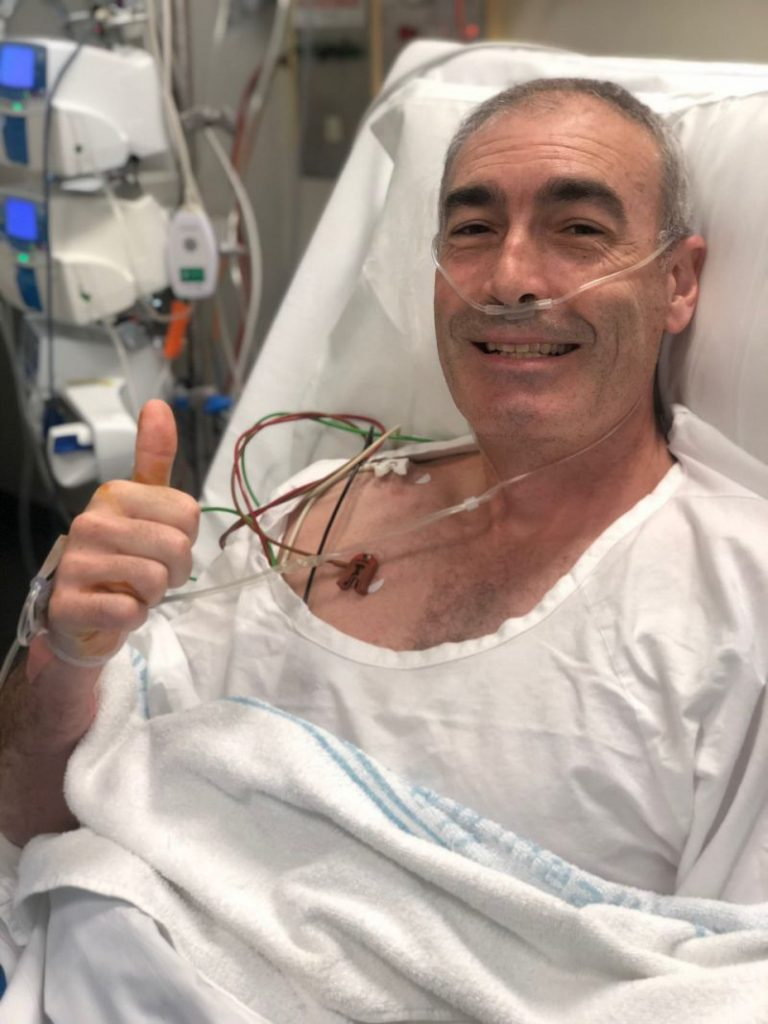 Greg Page rushed to hospital