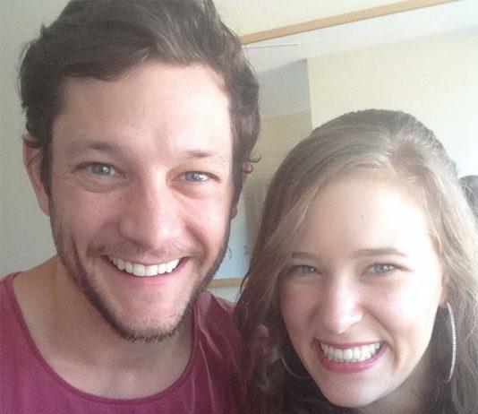 Rob Mills and Lauren Yeates