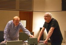 Richard Lush and Geoff Emerick