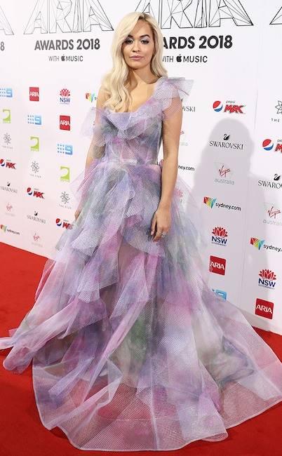 Rita Ora at the 2018 ARIA Awards