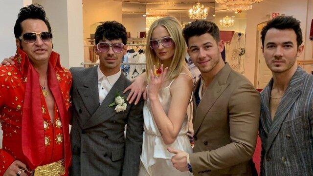 Joe Jonas & Sophie Turner's wedding
