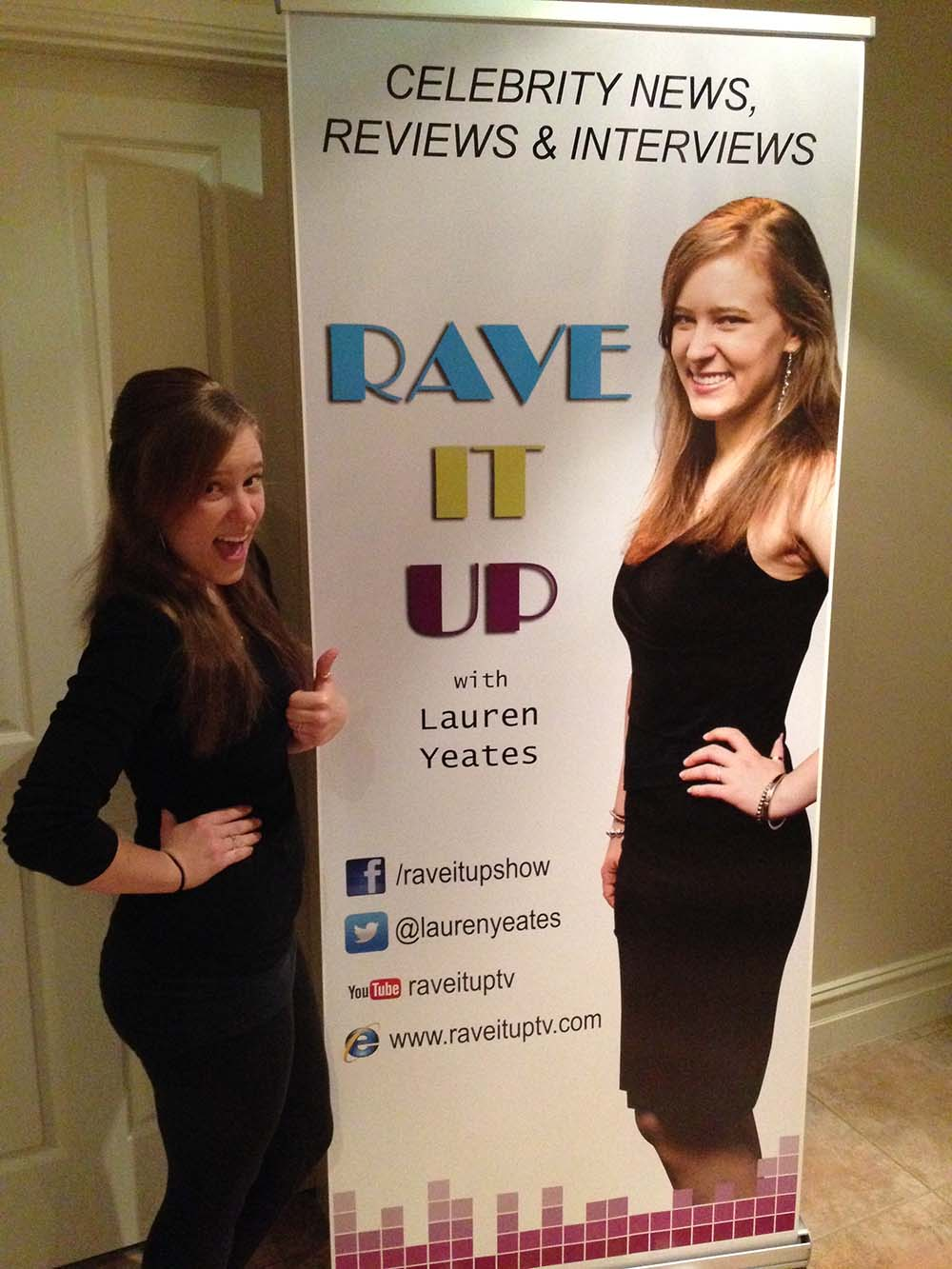 Rave It Up Banner