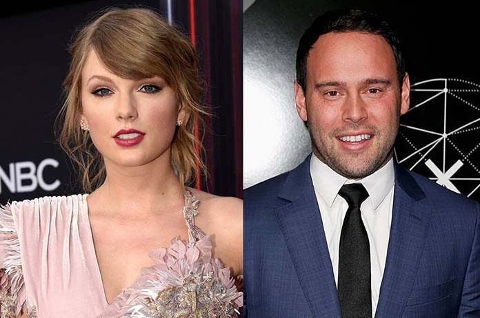Scooter Braun & Taylor Swift