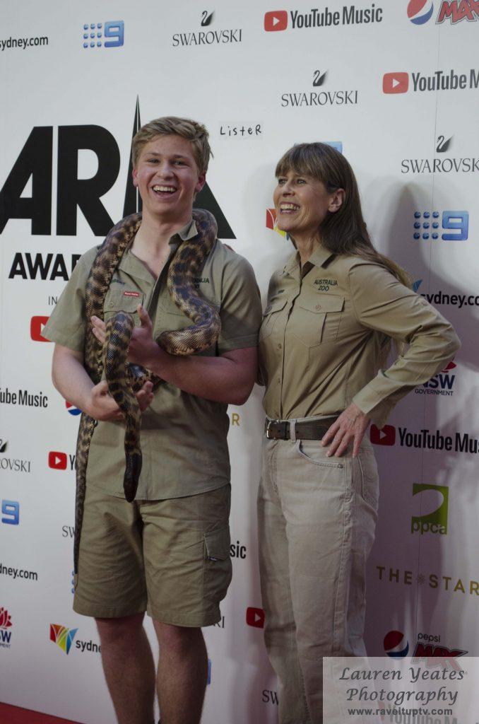 Bob & Terri Irwin