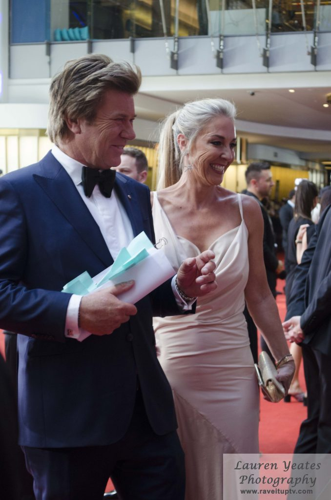 Richard Wilkins and his partner Virginia Burmeister