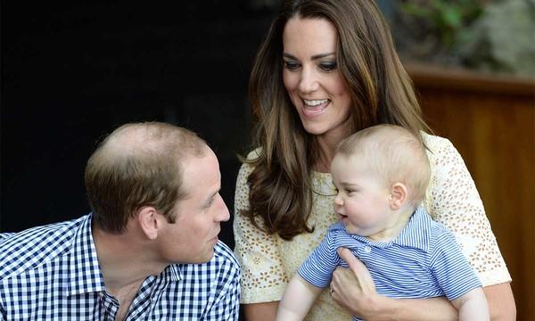 Prince William, Kate & George