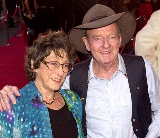 Slim Dusty & his wife Joy McKean