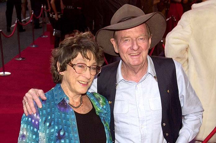 Slim Dusty & his wife Joy McKean