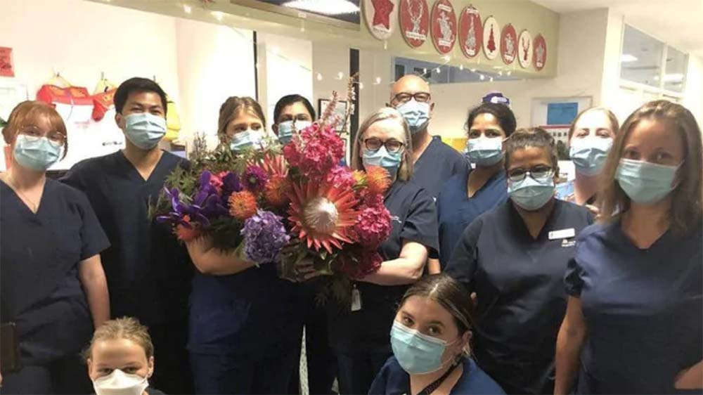 Liam Neeson's Gift to Australian Nurses