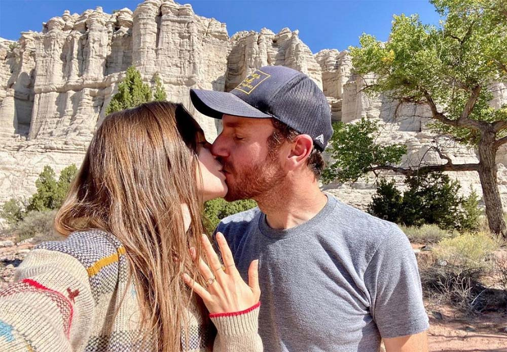 Lily Collins & Charlie McDowell Engagement