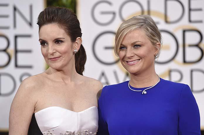 Tina Fey and Amy Poehler - Golden Globes 2021