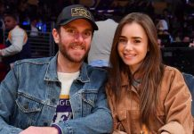 Lily Collins & Charlie McDowell