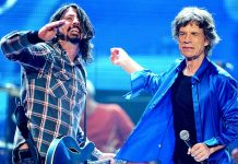 Dave Grohl & Mick Jagger