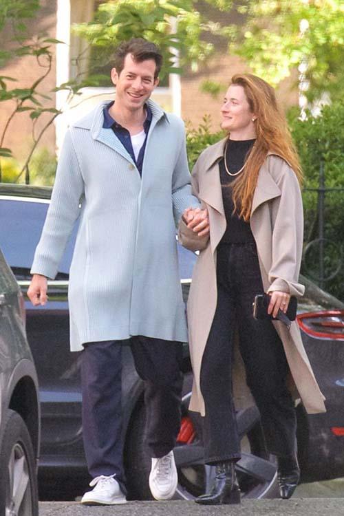 Mark Ronson & Grace Gummer