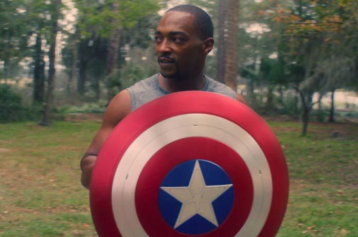 Andrew Mackie As Captain America