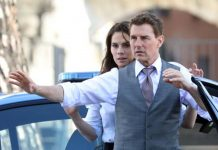 Tom Cruise And Hayley Atwell