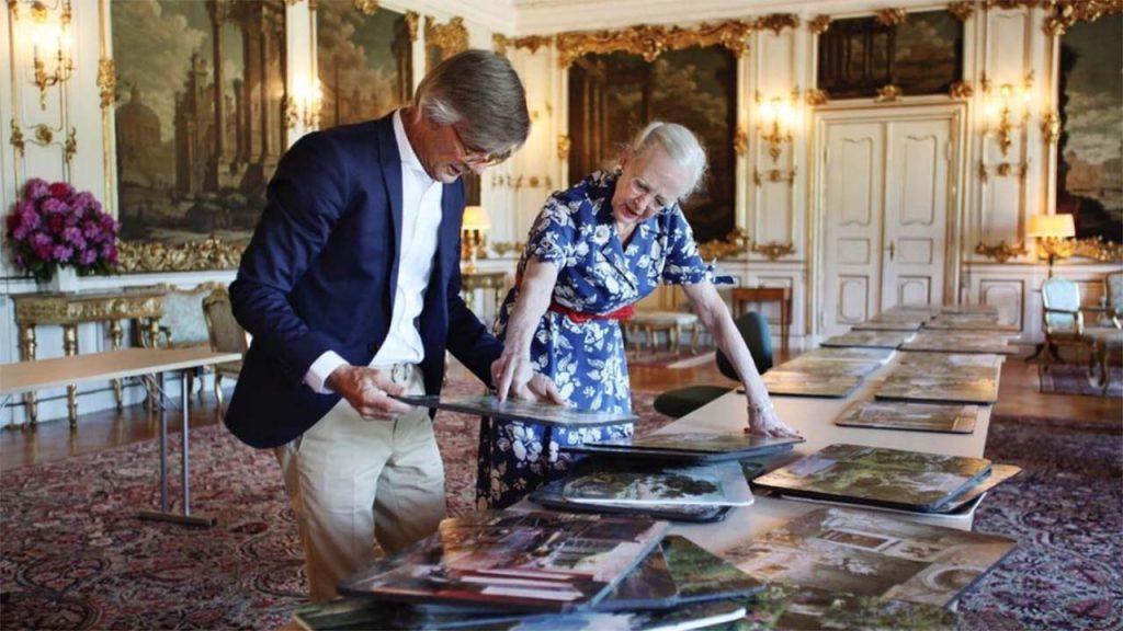 Queen Margrethe of Denmark Working On 'Ehrengard'
